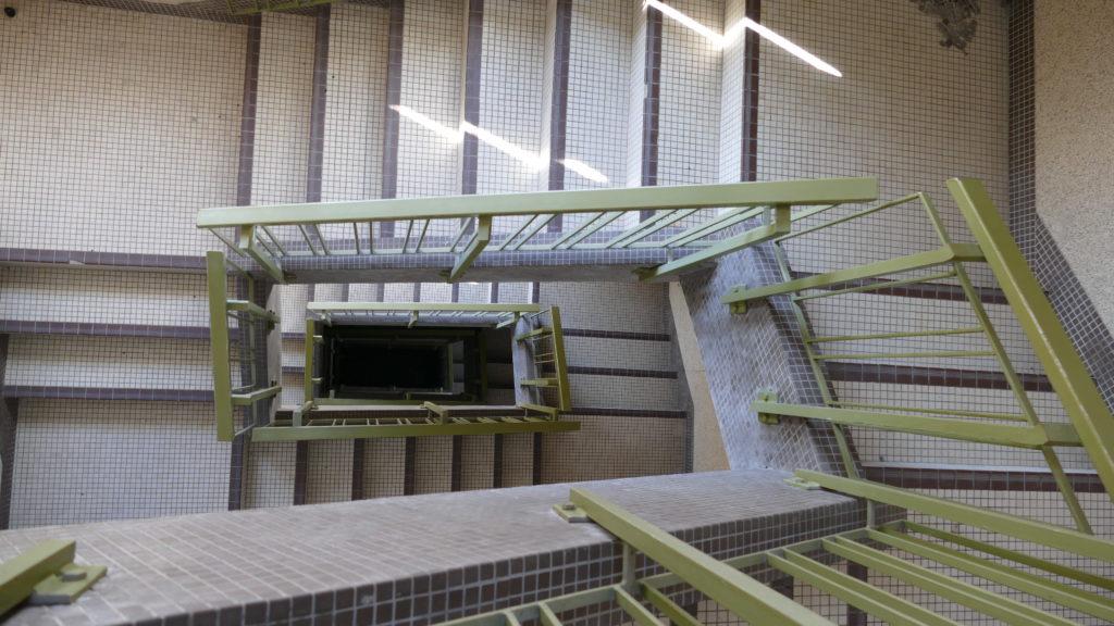 escaliers bâtiment