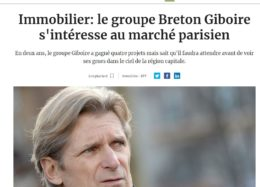 Le Groupe Giboire s'intéresse au marché parisien !