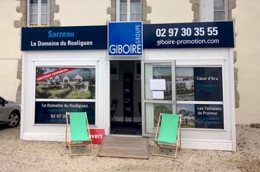 Espace de vente Promotion - SARZEAU