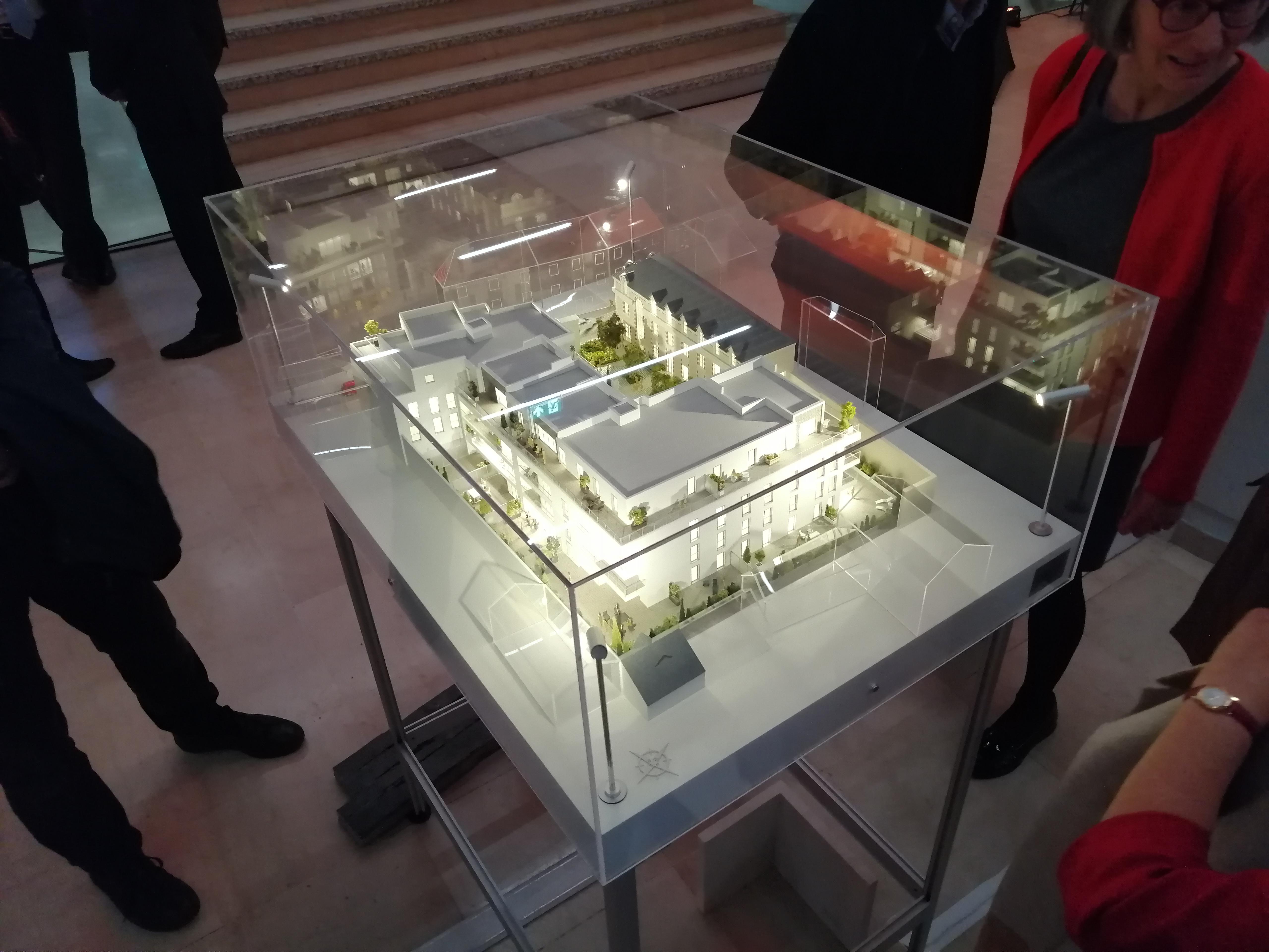 Un événement réussi pour le lancement commercial de la résidence Cour Saint-Rémy