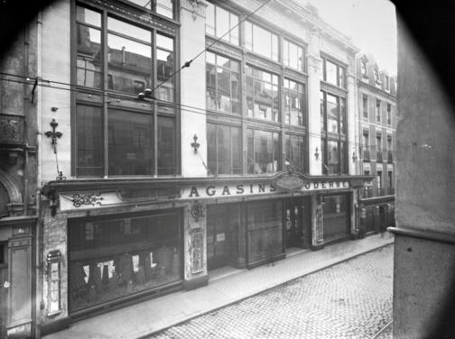 façade de l'immeuble rue le bastard - archive