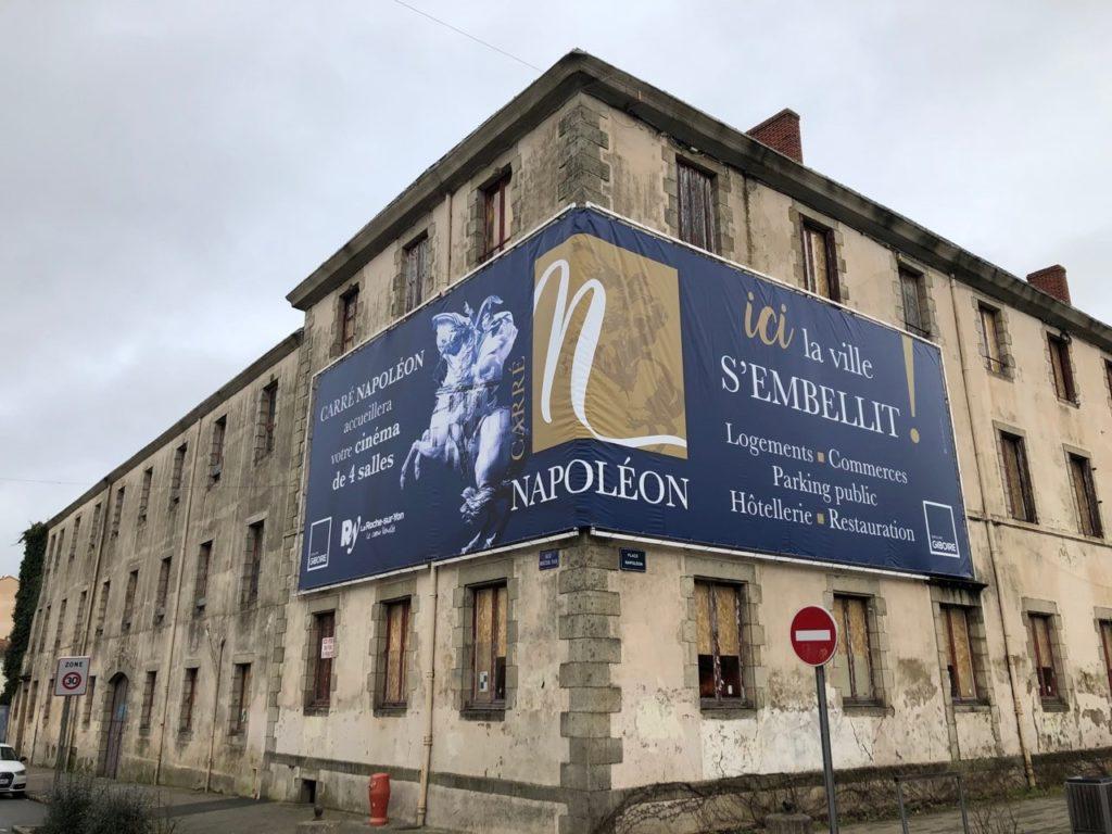 L'emplacement du programme Carré Napoléon