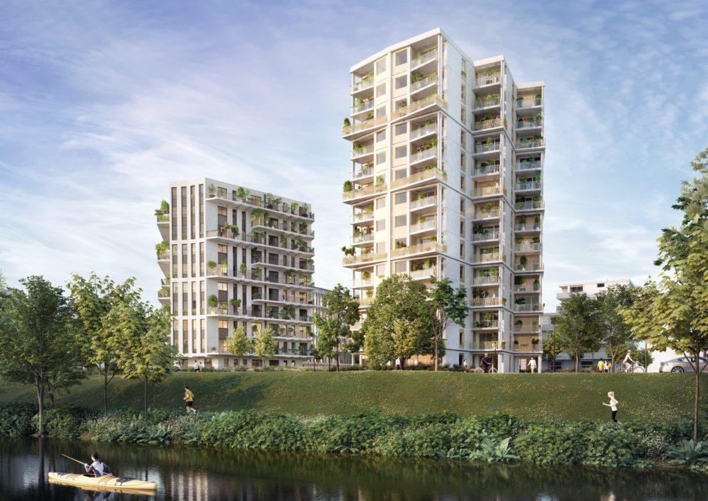 2 résidences, 123 appartements du T2 au T4