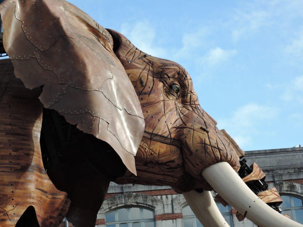 l'éléphant des machines de l'île