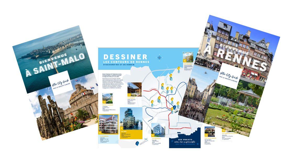 City Guide Rennes et Saint-Malo : de nouveaux supports pour la mise en valeur des territoires