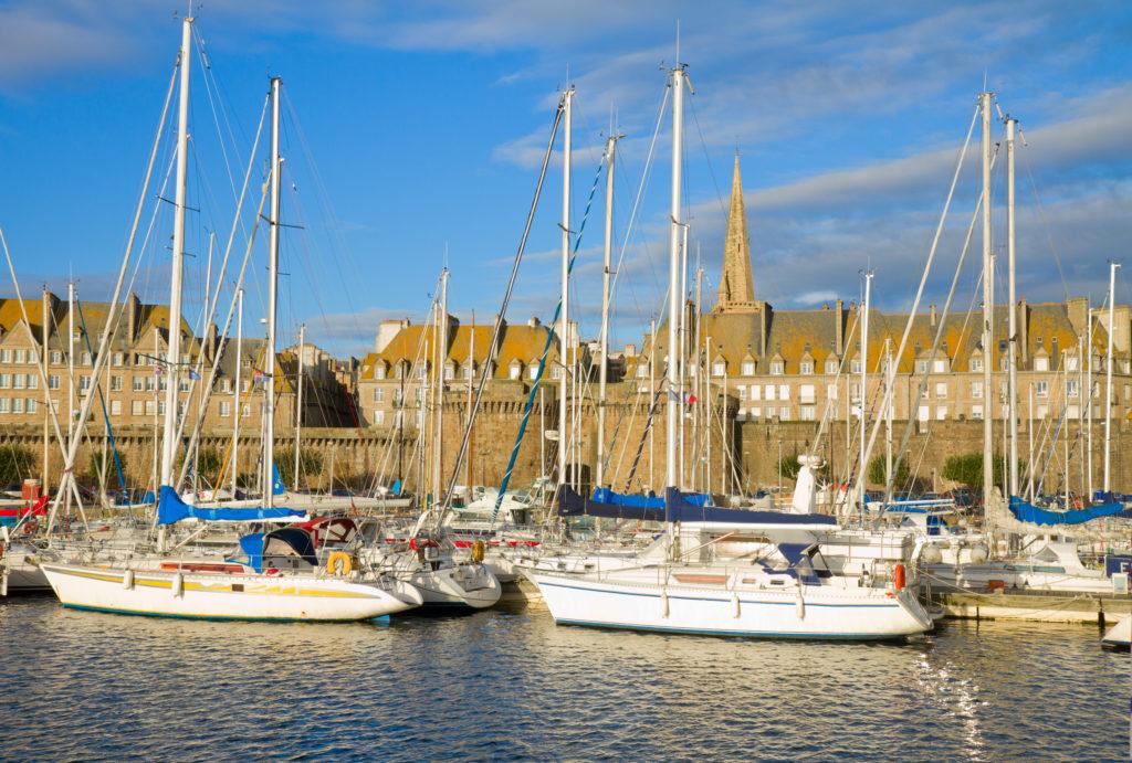 Port de Saint-Malo, Bretagne