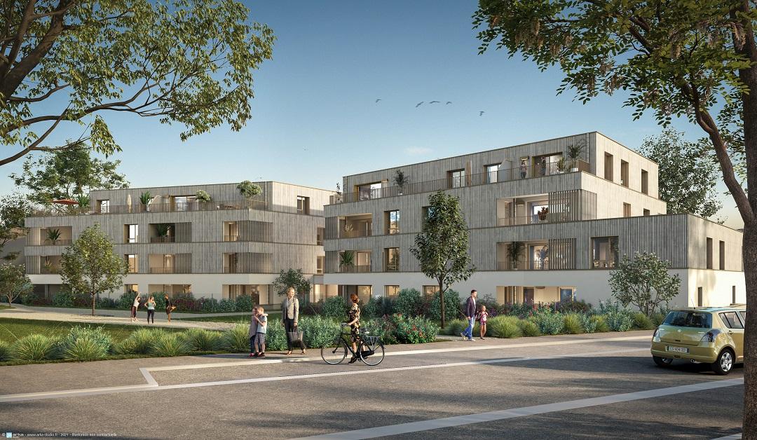 Découvrez notre nouvelle résidence à La Chapelle-sur-Erdre, Le Domaine du Moulin